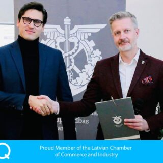 Qticket 1st anniversary being a member of The Latvian Chamber of Commerce and Industry